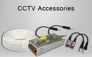 CCTV Power Supply, CCTV Cables, PCB (Camera Chip), Lens, BNC Connectors in Kirti Nagar